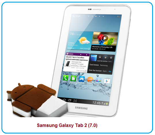 Samsung Galaxy Tab 2 (7 0) features/specifications and review